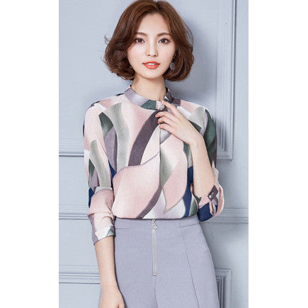 artistic watercolor blouse