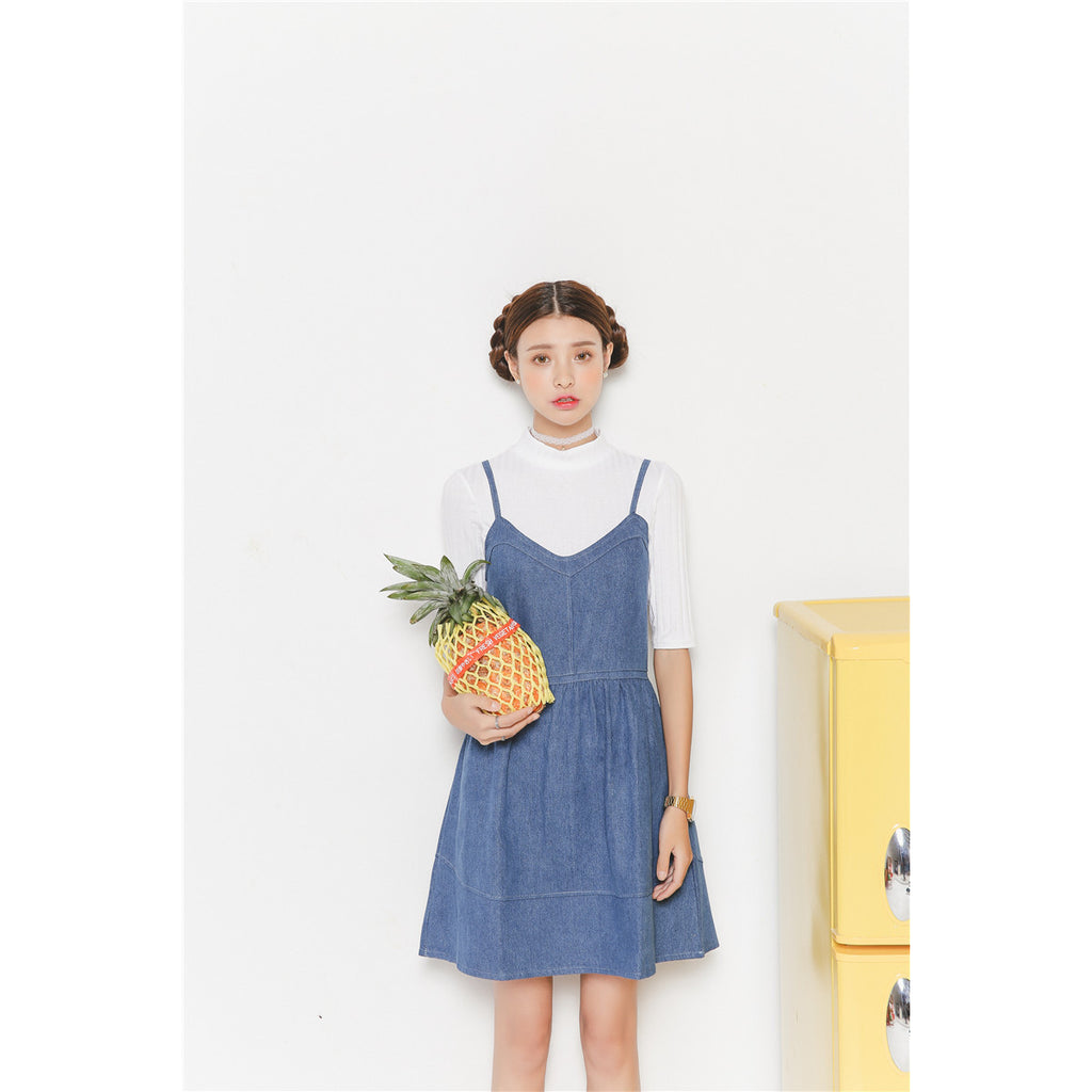 Age of Semi Innocence Denim Dress
