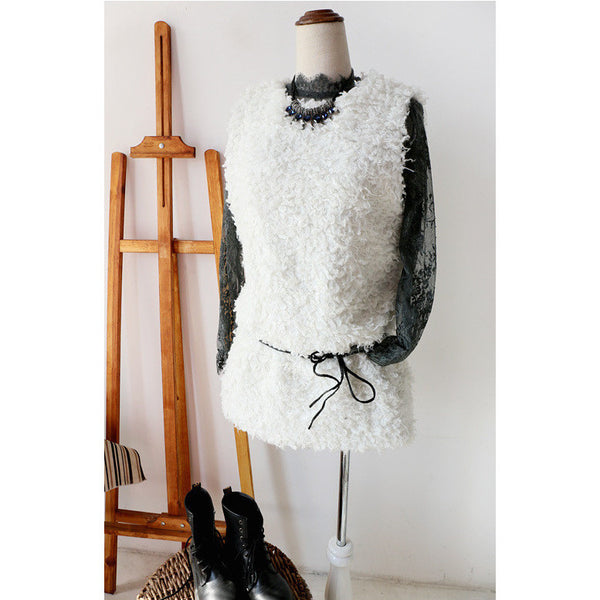 wool vest for layering