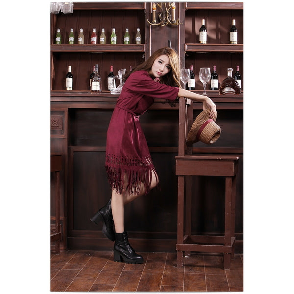 Primitive Passion Fringe Dress