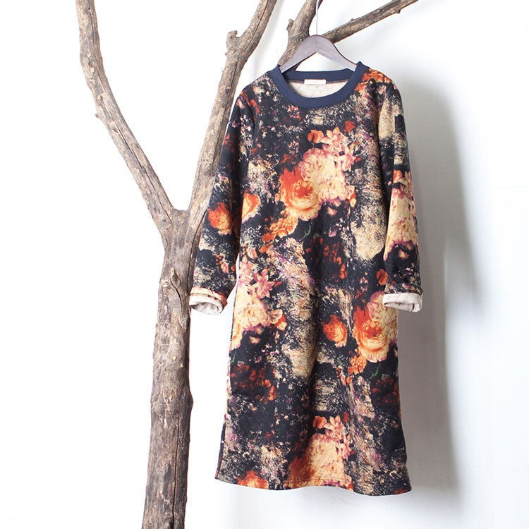 Floral Big Bang Dress