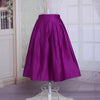 Bright and Breezy Skirt - purple