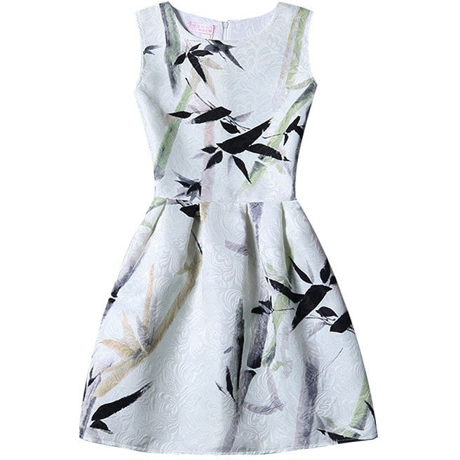 bamboo painting dress