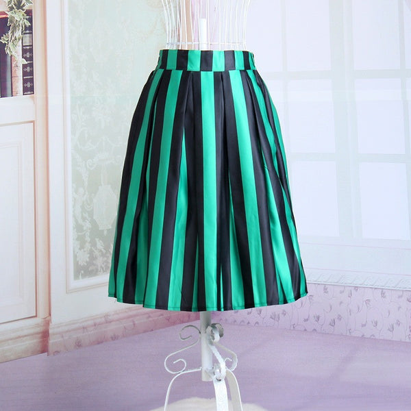 Festive Stripe Skirt