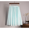 natural material A-line skirt