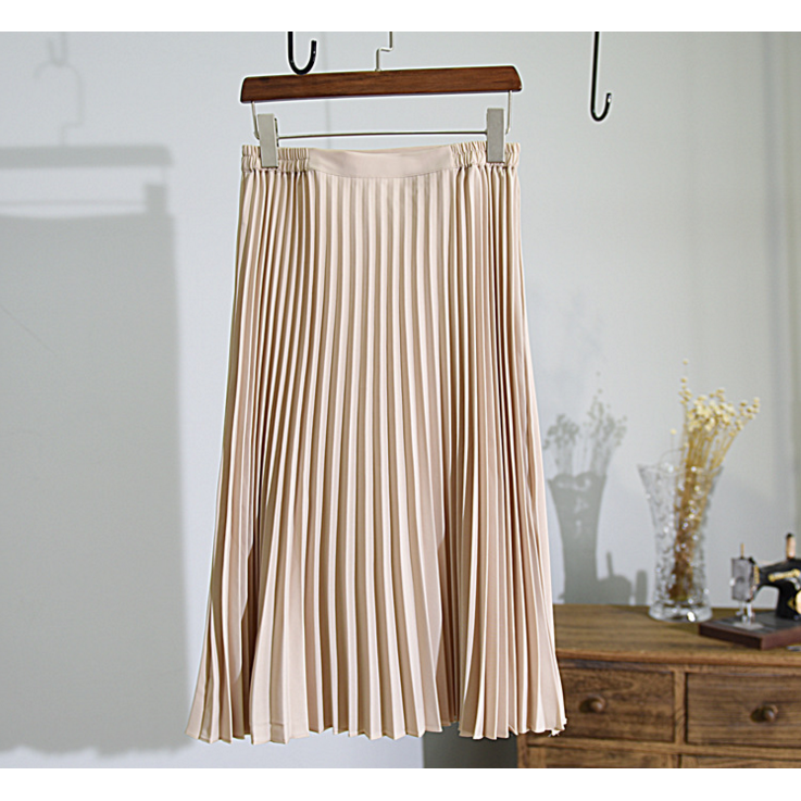 classic vintage pleated skirt