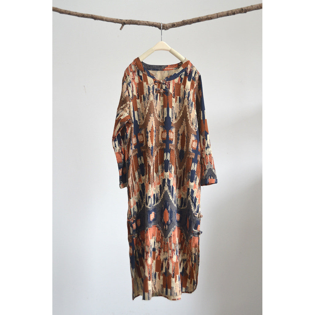 Cultural Anthropology Dress - brown  tone