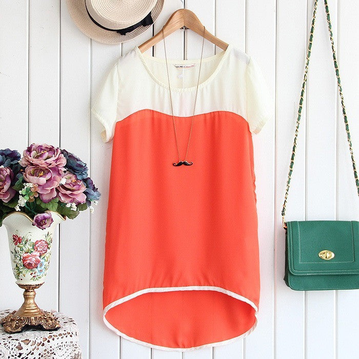 asymmetric length blouse