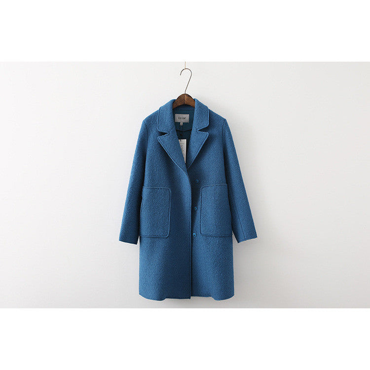 Big Bad Weather Coat - blue