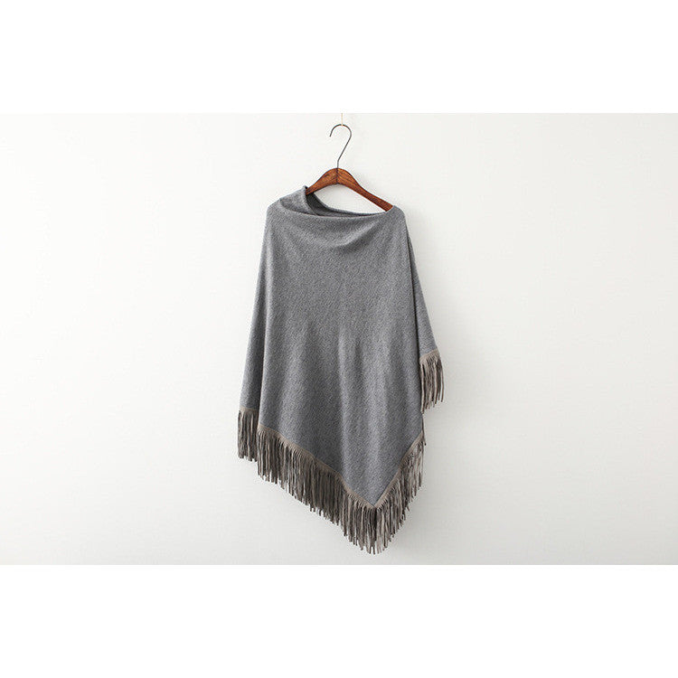 The Arts of Asymmetry Poncho - front