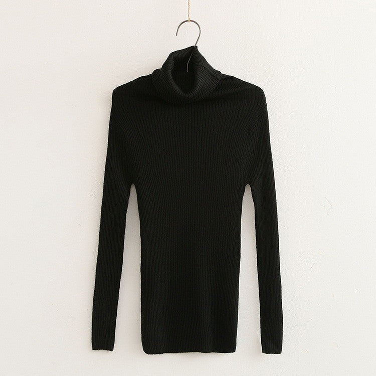 slim fit turtle neck top