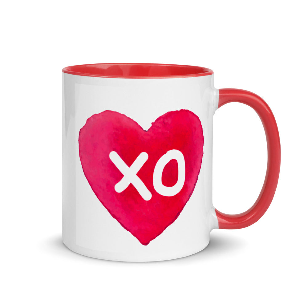 XO Mug with Red Color Inside