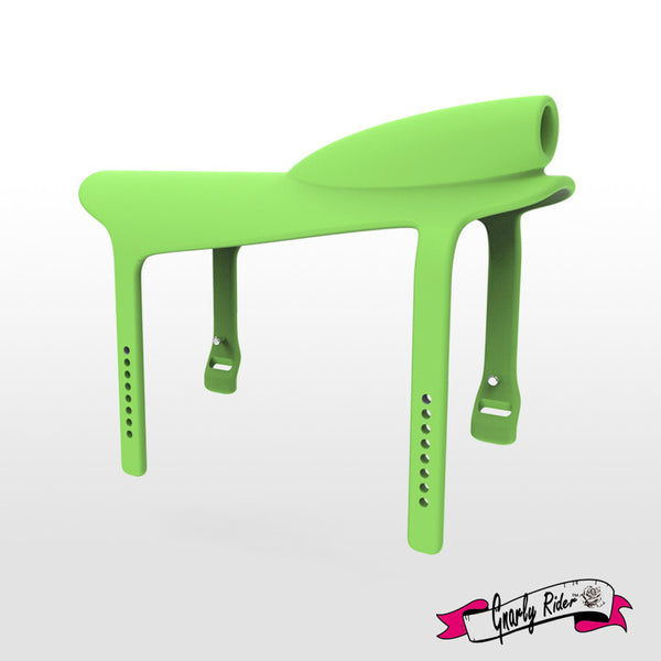 Gnarly Rider® Silicone Saddle Green