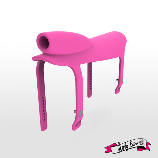 Gnarly Rider® Silicone Saddle Pink