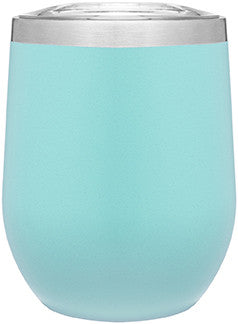 12oz thermal tumbler with copper vibrant colors TEAL