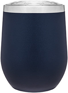 12oz thermal tumbler with copper vibrant colors NAVY