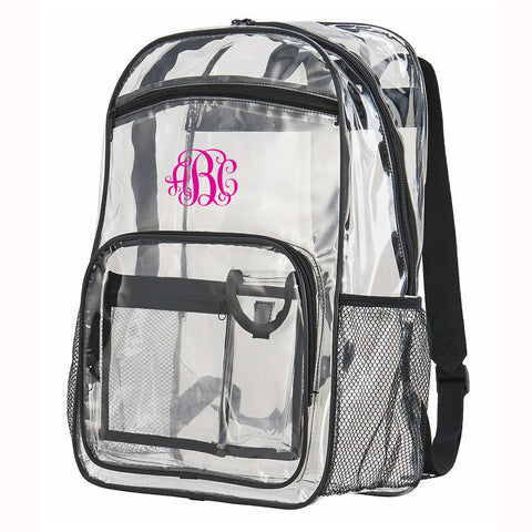Clear Backpack School Approved