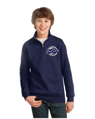 OLPH 8 oz. Quarter-Zip Cadet Collar Sweatshirt