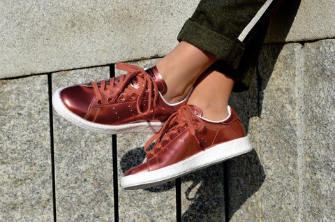 Adidas Stan Smith Boost Metallic Copper BB0107