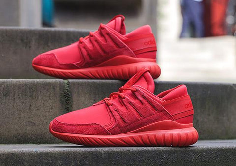 cheap for discount 108b1 31900 Adidas Tubular Nova All Red Blog Sneakers NOIRFONCE