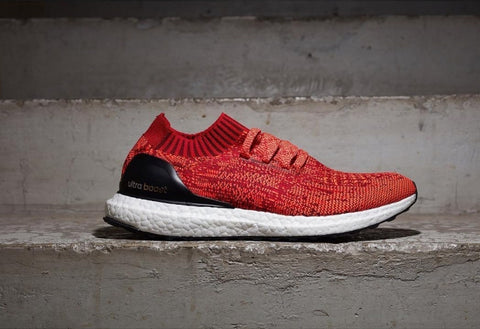 828fac4a863c Adidas Ultra Boost Uncaged Red NOIRFONCE Sneaker Blog