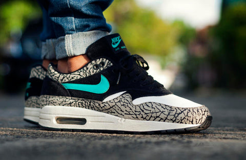 Nike Air Max 1 Atmos Elephant NOIRFONCE Sneakers blog