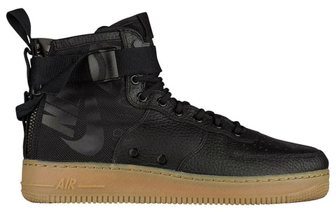 Nike Special Field Air Force 1 Mid Black/Black/Gum Light Brown 917753-003