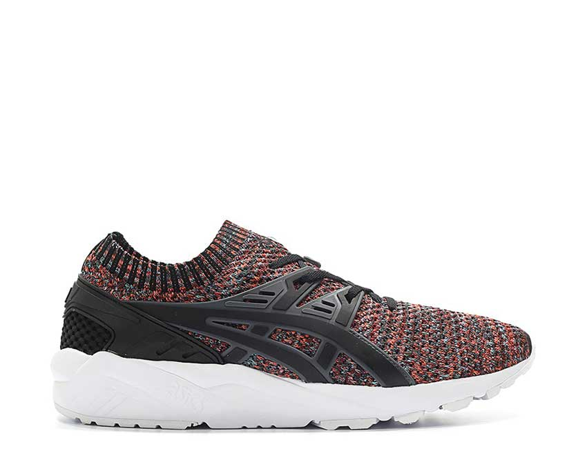 asics gel kayano trainer knit noir