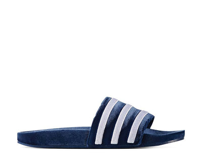 Adidas Adilette Slides Velvet Dark Blue BY9908