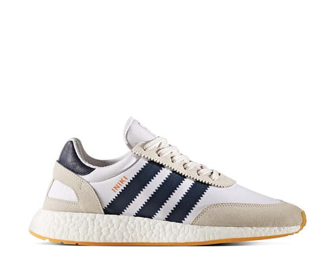 Adidas Iniki Runner Boost White Navy Gum