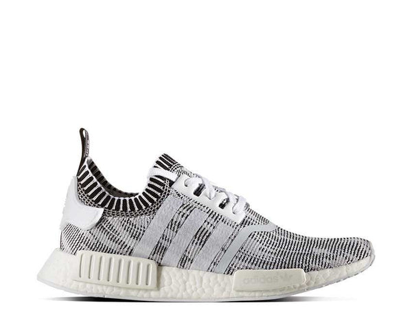 97677cbc3 Adidas NMD R1 Primeknit Oreo Black White Linen Pack NOIRFONCE Sneakers