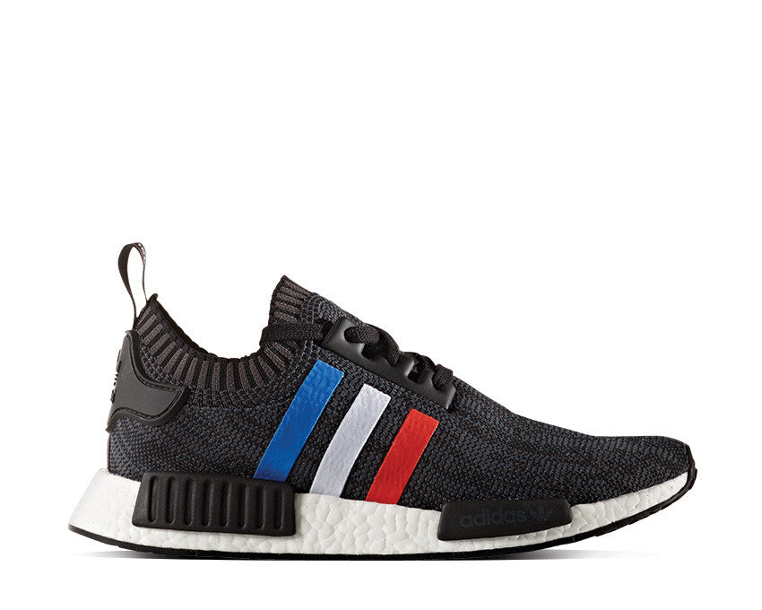 buy popular abb85 a79d1 Adidas NMD R1 Primeknit Tricolor Black