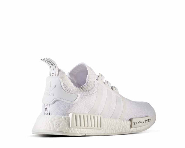 f33c89b2960f0 Adidas NMD R1 PK Japan White NOIRFONCE Sneakers