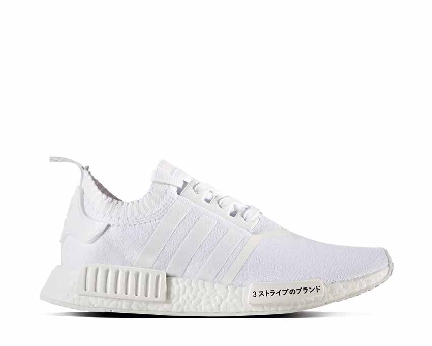 4d0f619a2660a Adidas NMD R1 PK Japan White NOIRFONCE Sneakers