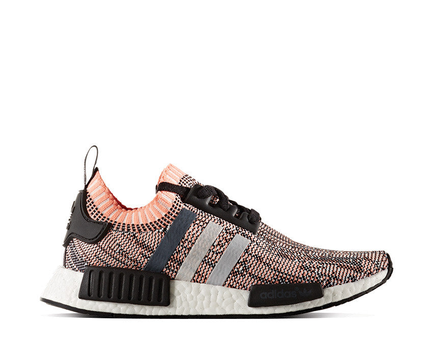Women Adidas BY3035 NMD R1 Prime Knit Running shoes gray