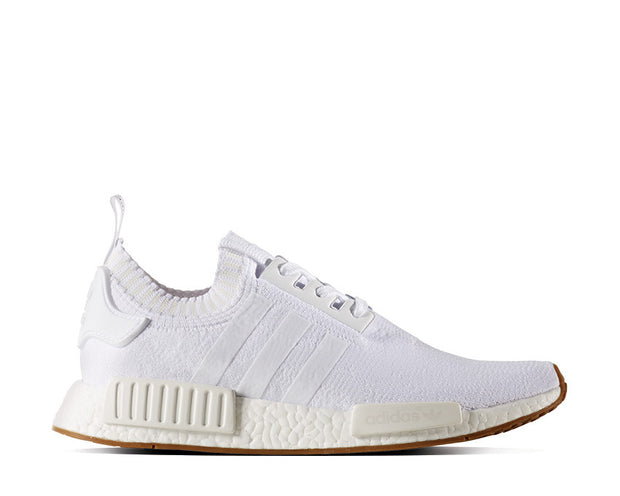 Adidas NMD R1 Primeknit Gum Pack White NOIRFONCE Sneakers