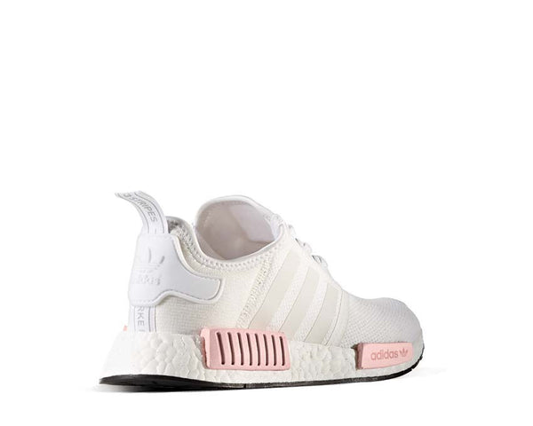 differently 54fa0 cf2bf Adidas NMD R1 W White Pink NOIRFONCE Sneakers