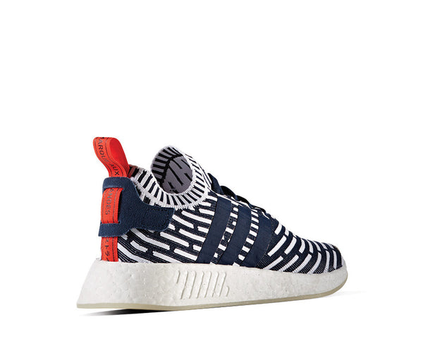 ca7bfdde2c224 Adidas NMD R2 PK Collegiate Navy NOIRFONCE Sneakers