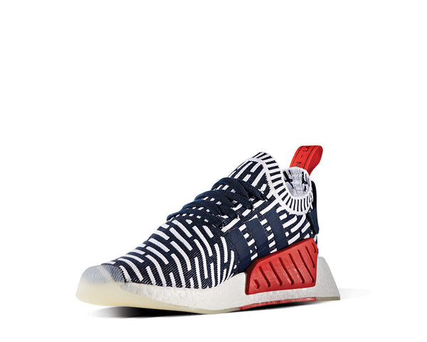 f2ce068fa Adidas NMD R2 PK Collegiate Navy NOIRFONCE Sneakers