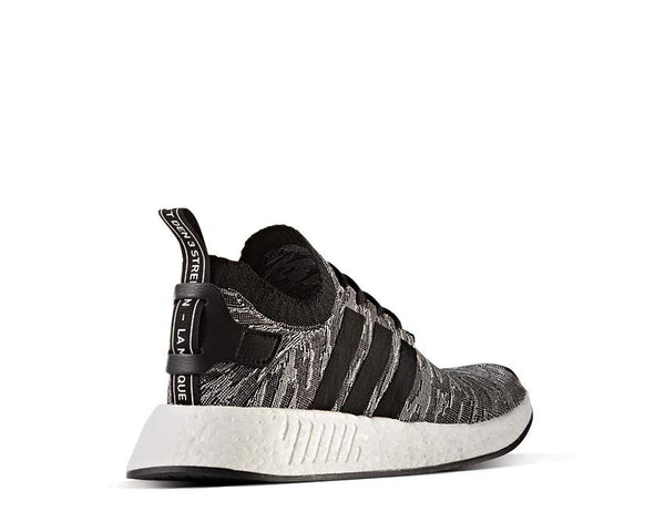 b892e529d29b0 Adidas NMD R2 Pk Black Grey NOIRFONCE Sneakers