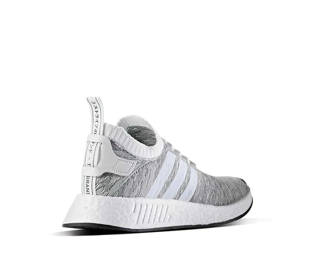 Adidas NMD R2 Pk White Grey BY9410 - 2