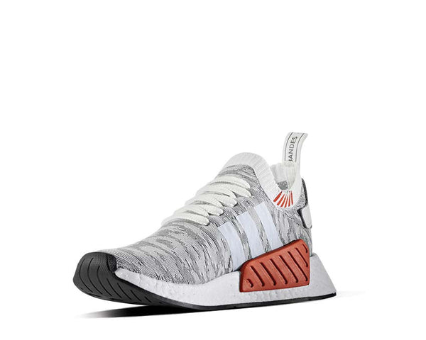 ... Adidas NMD R2 Pk White Grey BY9410 - 3 ...