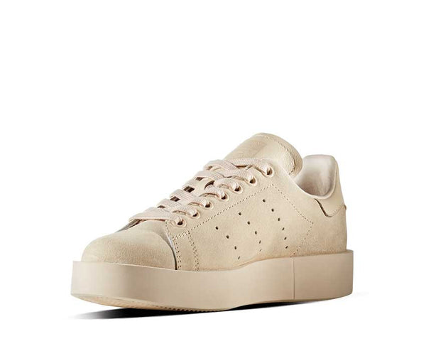 adidas stan smith bold beige noirfonce sneakers. Black Bedroom Furniture Sets. Home Design Ideas