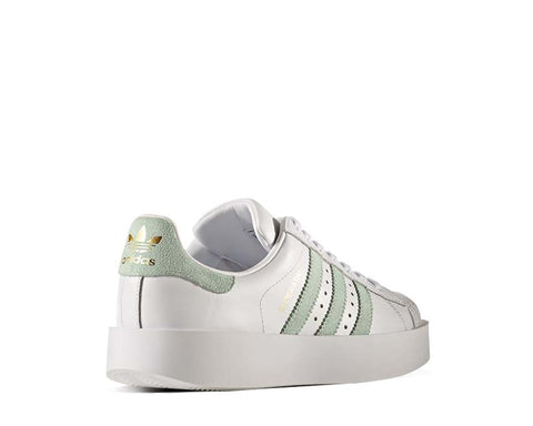 Adidas Superstar Bold White Green