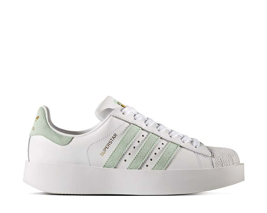 Adidas Superstar Bold White Mint BY2948