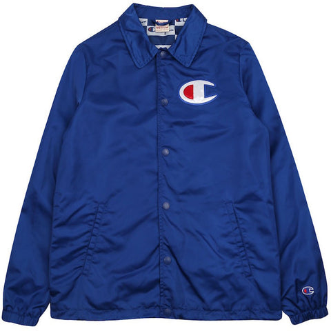 Champion Coach Jacket Blue