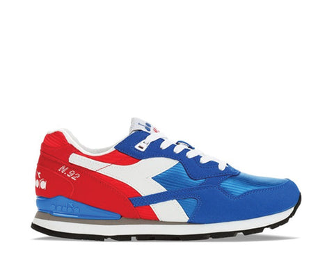 Diadora N92 OG Poppy Red / Imperial Blue