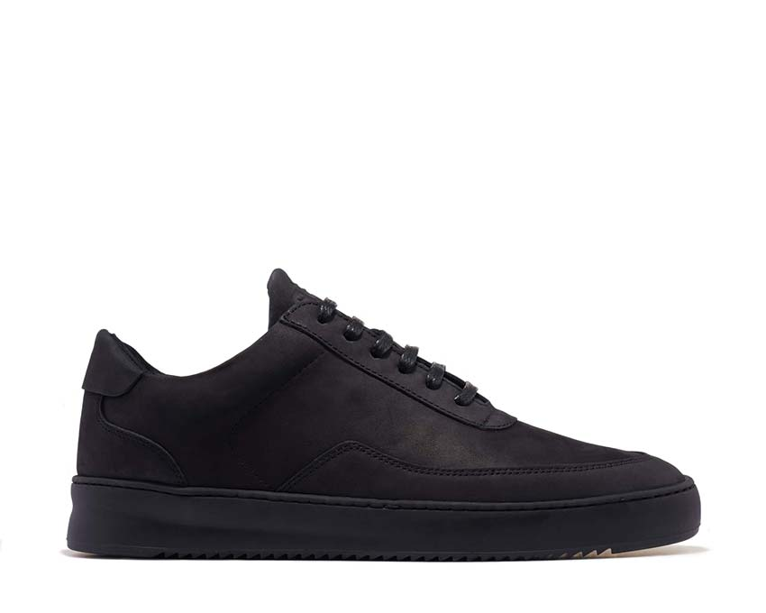 Filling Pieces Low Mondo Ripple Nardo All Black