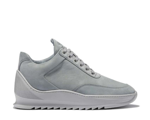 Filling Pieces Low Top Heel Cap Mono All Cement Grey