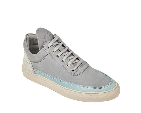 Filling Pieces Low Top Iron Ocean Grey